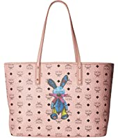 MCM - Rabbit East/West Shopper Medium