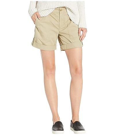 LAUREN Ralph Lauren Lightweight Surplus Shorts (Light Sage) Women