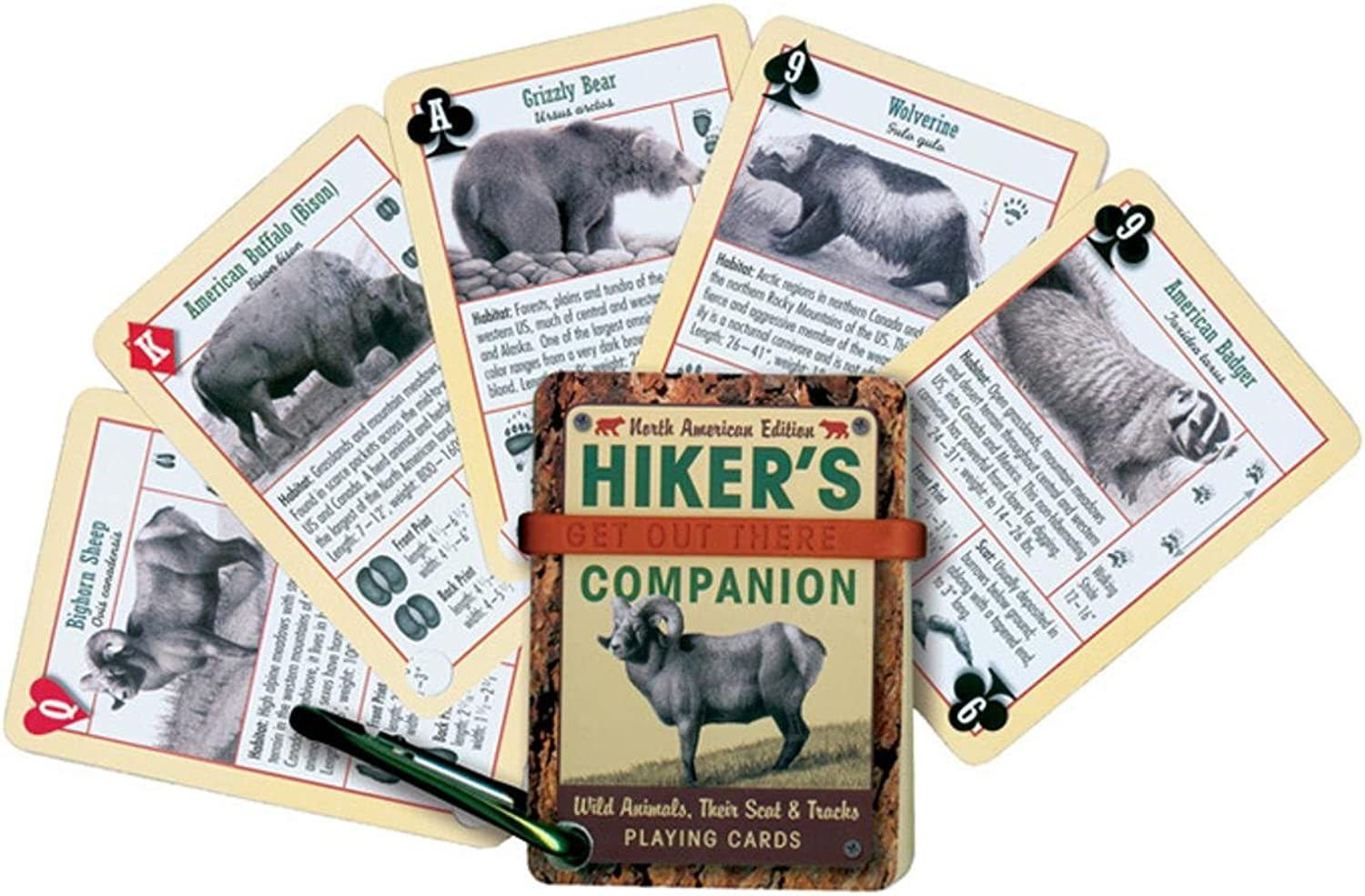 Inkstone Design, Inc Hikers Companion Playing Cards by INKSTONE DESIGN, INC