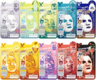 Elizavecca Deep Power Ringer 10 Type Mask Packs/koreanbeauty/kbeauty/face mask pack/sheet mask pack