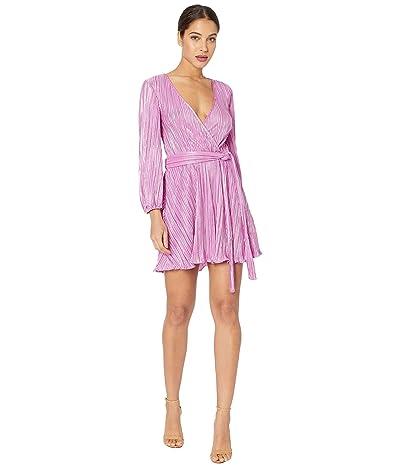 Bardot Belissa Pleat Dress (Pink Shine) Women