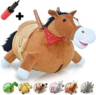 WALIKI Bouncy Horse Hopper | Inflatable Hopping Horse for Kids | Jumping Horse