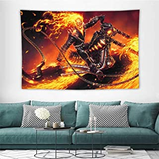 Wall Decor Tapestry Ghost Rider Contest of Champions Z Tapestry Wallpaper Home Decor W60 X L51 Inch