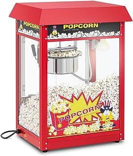 Royal Catering Machine À Popcorn Professionnelle RCPR-16E (1600 W, 5 Kg/Heure, 16 l/h, Marmite ø18,5 cm, Revêtement Téflo...
