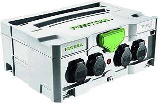 FESTOOL Systainer SYS-PowerHub IP44 med 5 uttag 396 x 296 x 157,5 mm, 1 st, 200231