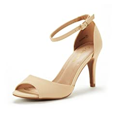 d79b7b92091 Womens Stiletto High Heel Ankle Strap Party Sandals Shoes - Casual ...