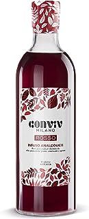 Conviv Analcolico per aperitivo Rosso 70cl - Base analcolica per Cocktail a Basso Contenuto Calorico - Infuso Ottenuto da ...