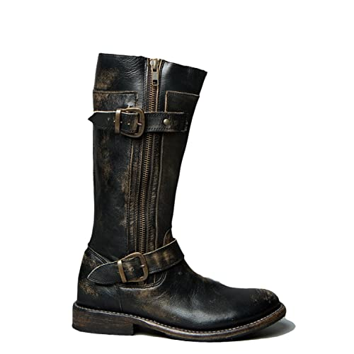 salvați los angeles 100% autentic Genuine Leather Boots: Amazon.com