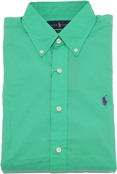 Ralph Lauren - Camisa Casual - para Hombre Verde X-Large ...