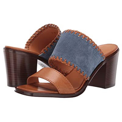 Frye Ashley Mule (Aqua/Whiskey) Women