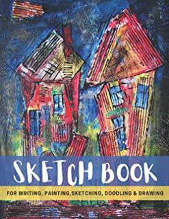 """Sketch Book: BLANK Notebook for Drawing, Writing, Painting, Sketching or Doodling, 120 Pages, 8.5"""" x 11"""" Glossy Premium Ab..."""