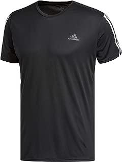 adidas Men's Run 3s Tee M Black/White Shirt