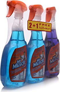 Mr. Muscle Advance Glass Cleaner - 3 x 750 ml