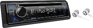 Kenwood Single DIN Bluetooth CD/AM/FM USB Auxiliary Input Car Stereo Receiver w/ Dual..