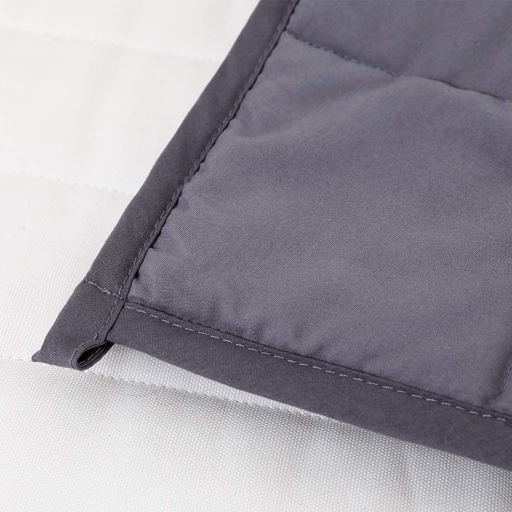 41 x 60, Throw Size Perfect for 60-80 lbs Kids Natural Cotton with Lead-Free Glass Beads AN Kids Weighted Blanket 7 Pounds