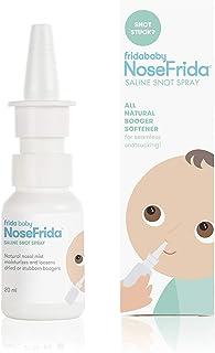 NoseFrida All-Natural Saline Nasal Snot Spray by Frida Baby, White