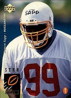1995 Upper Deck Football Rookie Card #12 Warren Sapp