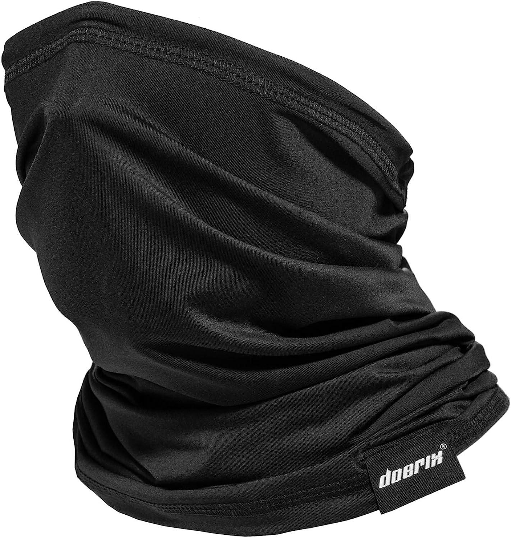 Neck Gaiter Face Mask Reusable, Cloth Face Masks Bandana Balaclava Cover Scarf Shield