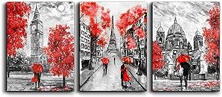 Canvas Art Simple Life Black and white scenery romantic couple Wall Art Decor 16