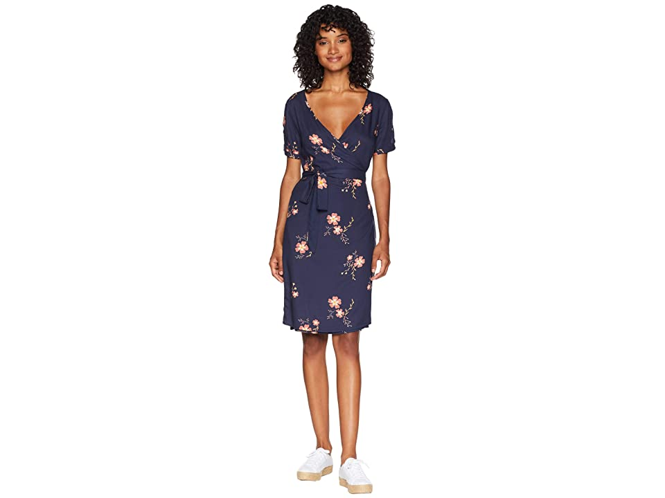 Roxy Monument View Dress (Dress Blues Spaced Out Floral) Women