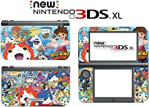 Yo-kai Watch Blasters: Red Cat Corps White Dog Squad Video Game Vinyl Decal Skin Sticker Cover for the New Nintendo 3DS XL LL 2015 System Console