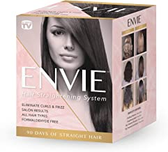 ENVIE Hair Straightening System Single Application 90 Days of Straight Frizz Free Hair
