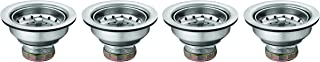 Moen 22036 3-1/2 Inch Composite Kitchen Sink Drain Assembly, Stainless (Pack of 4)
