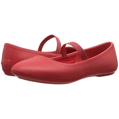 Native Kids Shoes Margot (Little Kid) (Torch Red) Girls Shoes