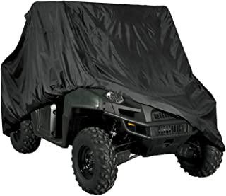 "Raider 02-7724 SX-Series Large Weather and UV-Resistant UTV Storage Cover (Measures 124.4"" L x 70.9"" H x 58.3"" W)"