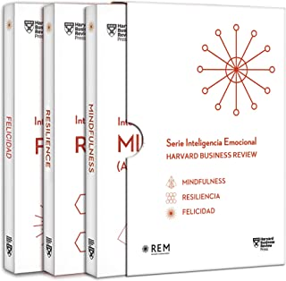 Serie Inteligencia Emocional HBR. Estuche 3 Vols. (Mindfulness, Resiliencia y felicidad): Mindfulness. Resiliencia. Felici...