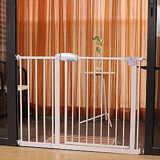 Baby Gate Telescopic Fence Indoor Isolation Door Baby Gates for Stairs Pet Cats Bar Block Large Dog Door Dual Lock Self Cl...
