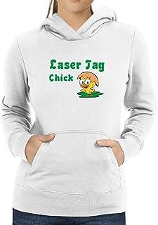 Eddany Laser Tag Chick Women Hoodie