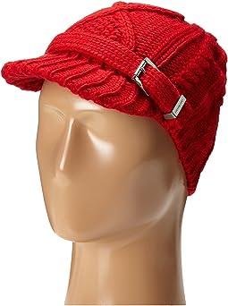 MICHAEL Michael Kors - Classic Hand Knit Cable News Boy Cap