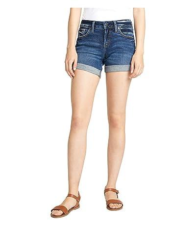 Silver Jeans Co. Boyfriend Mid-Rise Shorts L53608SDK357 (Indigo) Women