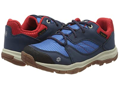 Jack Wolfskin Kids Mountain Attack 3 XT Texapore Low (Toddler/Little Kid/Big Kid) (Blue/Red) Kid