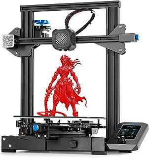 Stampante 3D Creality Ender 3 V2, Stampante FDM 3D con Scheda Madre Silenziosa, Nuova Piattaforma di Vetro Carborundum del...