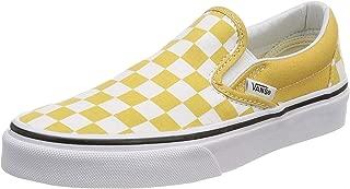 yellow vans classic slip on