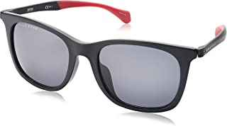 هوغو بوس نظارة شمسية للرجال ، رمادي