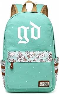 JUSTGOGO KPOP BTS Bangtan Boys VIXX SEVENTEEN GOT7 EXO Backpack Daypack Laptop Bag College Bag Book Bag School Bag (G-DRAGON)