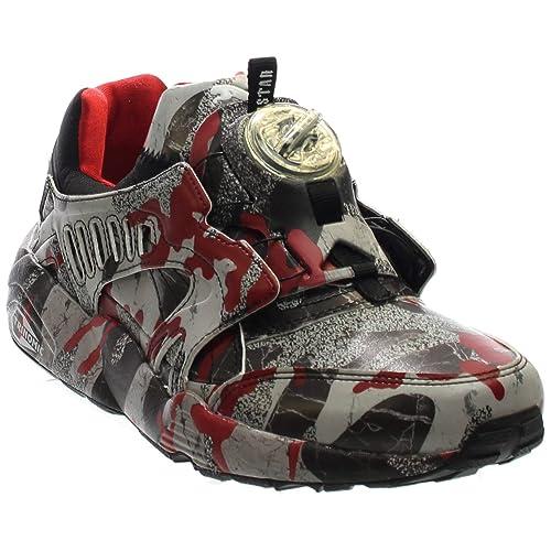 6b7d2db688fa Puma Men s Disc Blaze Camo X Trapstar Ankle-High Fashion Sneaker
