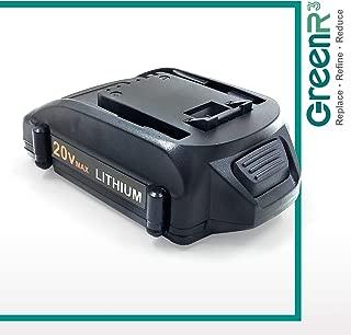 GreenR3 1-PACK 2000mAh 2.0Ah Battery for WORX WA3520 fit WG160 WG629 WG546 WX178L WX176L WX550L WG323 WG523L WG545 WX026L WX916L WX682L WX176L WG921 WG320 WX290L WA3520 WG255 Power Tool Lithium Li-Ion