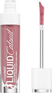 Son nước  – wet n wild Megalast Liquid Catsuit High Shine Lipstick, Send Nudes, 0.2 Ounce