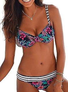 ESPRIT Barritt Beach Paddedd Bra Top Parte Superiore del Bikini Donna