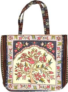 Designer Vintage-Like Bohemian Embroidered Large Tote Bag for Women (ASSORTED COLORS)