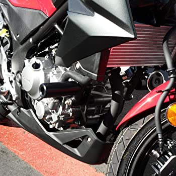 Red T-Rex Racing 2019 Honda CB300R No Cut Frame Sliders