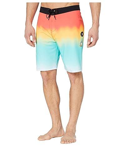 Hurley 20 Phantom Matsumoto Hawaii Boardshorts (Bright Crimson) Men