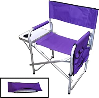 Supreme Embroidable Folding Director's Chair Purple