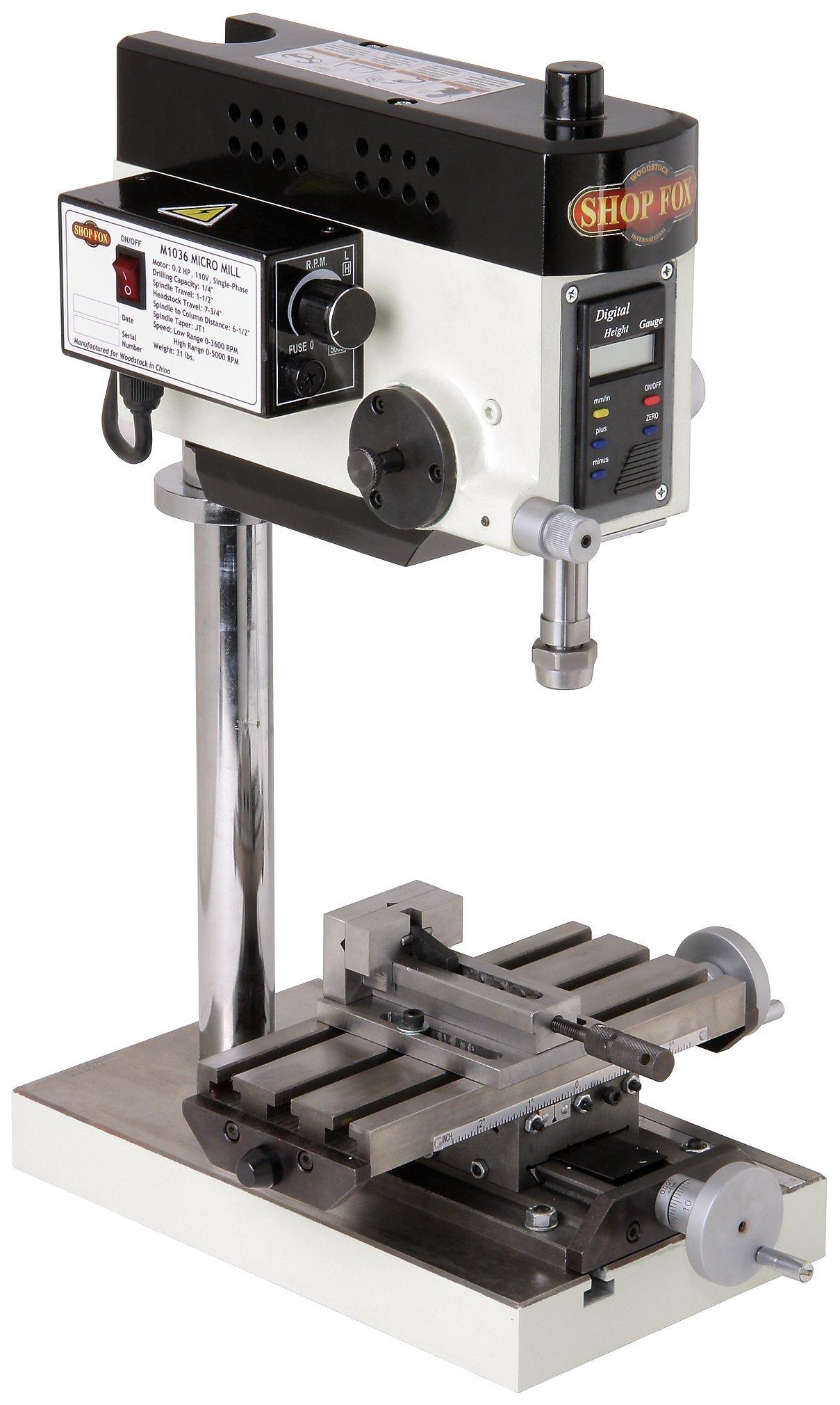 SHOP M1036 Micro Milling Machine