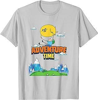 Cartoon Network Adventure Time Floating Scene T-Shirt
