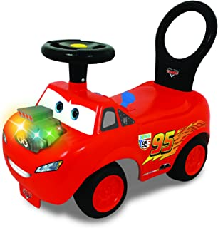Kiddieland Disney PIXAR Cars Lightning McQueen Light & Sound Activity Ride-On